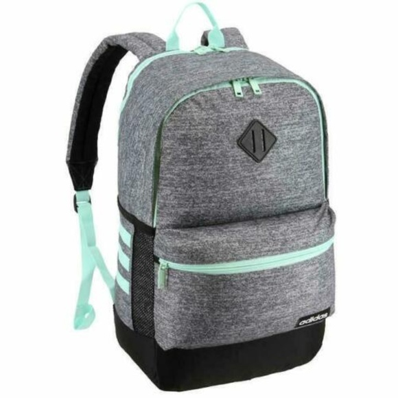 best service 2e15e 3d8a6 Classic Adidas Core Backpack- Mint Green Gray- NWT